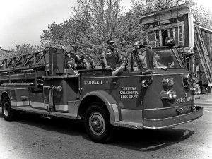 Vintage Ladder Truck II