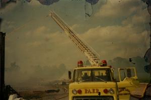 Vintage Ladder Truck
